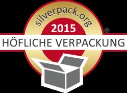 SilverPack Award Höfliche Verpackung